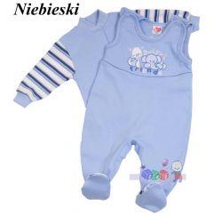 kaftanik + śpioszki komplet niemowlęcy rozmiar 56...