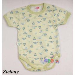 Bawełniane body niemowlęce z krótkim rękawem Batyr rozmiar 80...