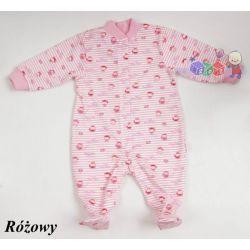 Drukowane bawełniane pajace dla niemowląt rozmiar 62...