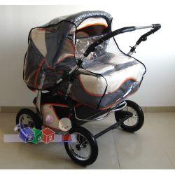 Folia przeciwdeszczowa na wózki bliźniacze....