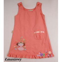 Sukienka lalaeczka w bajecznych kolorach na ramiączkach rozmiar 92...