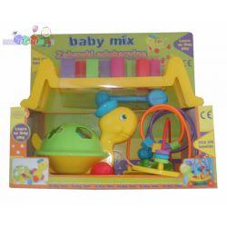 Zabawki edukacyjne - dopasuj klocki żółwik ...