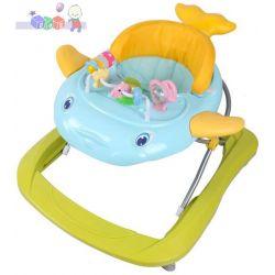 Dziecięcy chodzik Alexis Baby Mix delfinek...