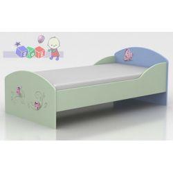 Młodzieżowe łóżeczko dziecięce kolekcja mebli Baggi Globinit 180x90 Lux...