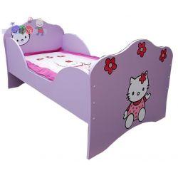 Łóżko dziecięce kotek powiększone  184x102x98...