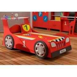 Łóżko młodzieżowe samochód standard po Tuningu + schowek na pościel 204x98...