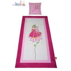 Narzuta na łóżko Korona 160x80 + poduszka Baby Best...