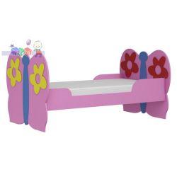 Łóżko dziecięce motyl 184x112...