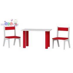 Stolik z dwoma krzesełkami w komplecie 50x80x54 cm...
