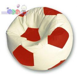 Pufa w kształcie piłki M - 60x35 cm, pufy dla dzieci Baggi...