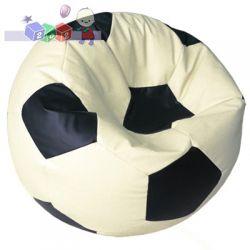 Pufa w kształcie piłki L - 80 x 40 cm, pufy dla dzieci Baggi...