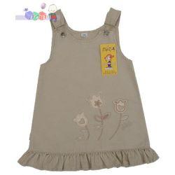Sukienka z falbanką dla dziewczynki z bawełny...