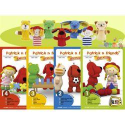 Patryk i przyjaciele - zestaw 20 edukcyjnych bajek na DVD + 7 pacynek na palec...