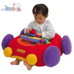 Miękki samochodzik Jumbo Go Go Go K's Kids dla najmłodszych 6m+...