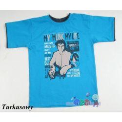 Bluzeczki T-shirt krótki rękawek dla dziecka rozmiar 140...