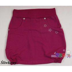 Bawełniane spódniczki ze ściągaczem i kieszeniami rozmiar 140...
