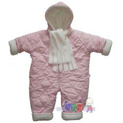 Jednoczęściowy ciepły kombinezon zimowy dla dzieci Kika rozmiar 80...