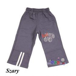 Ciepłe spodnie dresowe z aplikacją rozm. 104...