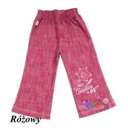 Dziewczęce spodnie dzwony jeans rozm. 104...