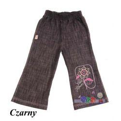 Dziewczęce spodnie dzwony jeans rozm. 110...