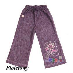 Dziewczęce spodnie dzwony jeans rozm. 116...