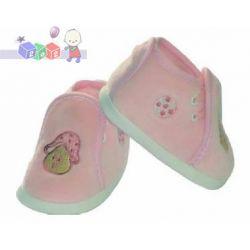 Obuwie niemowlęce, buciki ze sztruksu wiązane Lafel rozmiar 10cm...