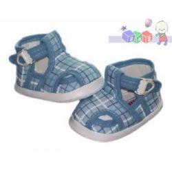 Śliczne buciki z klamerką dla niemowlaków na lato Lafel rozmiar 10cm...