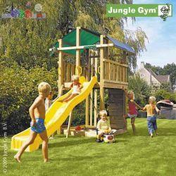 Malowany Plac zabaw firmy Jungle Gym - Fort...