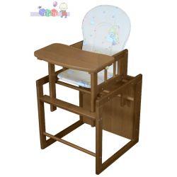 Krzesełko do karmienia Olek kolor orzech...