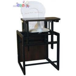 Krzesełko do karmienia Olek kolor venge...