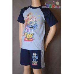 Dziecięce piżamy dla chłopców - krótki rękaw z nadrukiem rozmiar 98...