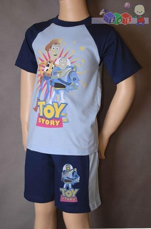 14751e367534e5 Bawełniana piżama z krótkim rękawem dla chłopca rozmiar 110... na ...