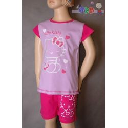 Dziecięce piżamy dla dziewczynek - krótki rękaw z nadrukiem rozmiar 86...