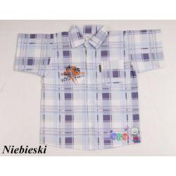Koszula na lato z krótkim rękawem dla chłopców rozmiar 98...