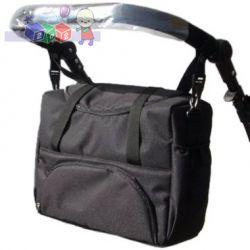 Duża torba Lux2 z kieszonkami - do wózka i na ramię...
