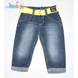 Spodnie jeans z paskiem dla dzieci rozm 80-86...