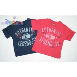 Koszulki T-shirt dla chłopca Authentic rozm 68-80...