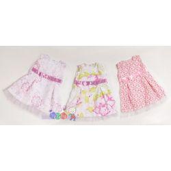 Sukienki dla dzieci Minibello bez rękawów, ozdobione kokardką rozm. 98...