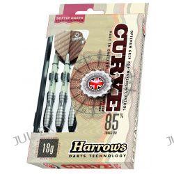 rzutki lotki HARROWS CURVE 85% 18gr z futerałem