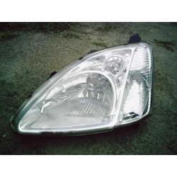 Reflektor lewy Honda Civic 3/5 D HB rok 2001-2003 Zderzaki