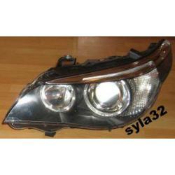 Reflektor lewy BMW 5 rok 2003- xenon