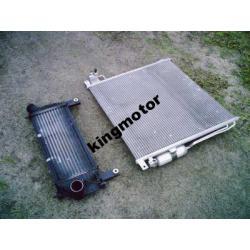 Chłodnica klimatyzacji i intercooler Navara 05-08