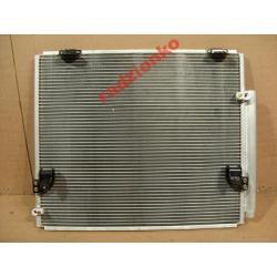 Chłodnica klimatyzacji Toyota Hilux 2005- Listwy na zderzak