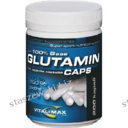 VitalMax L-glutamin Mega Caps - 300 kaps Potencja i libido