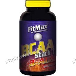 Fitmax BCAA Stack I + R-ALA - 120 tabl Środki powiększające