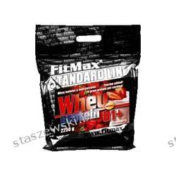 Fitmax Whey Protein 81+ - 2250 g Środki powiększające