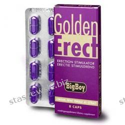 Golden Erect - pewne utrzymanie erekcji - 8 kaps. Erotyka