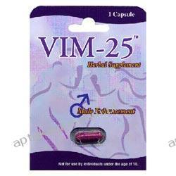 Vim-25, absolutna skuteczność na erekcję Środki powiększające