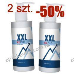 2 sztuki żel XXL K2 Plus, powiększa jeszcze bardziej, 200ml Drogeria erotyczna