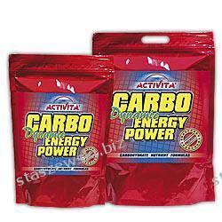 Activita Carbo Energy Power - 1000 g Środki powiększające